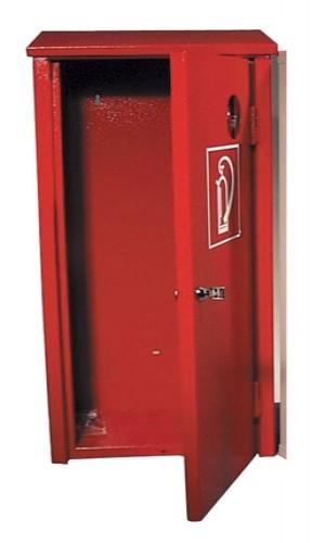 Metalen Afsluitbare Kast.Brandblusserkast Met Slot Afsluitbare Kast Uitgevoerd In Metaal